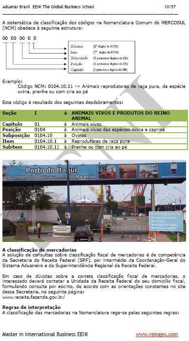 Aduanas / Alfândegas