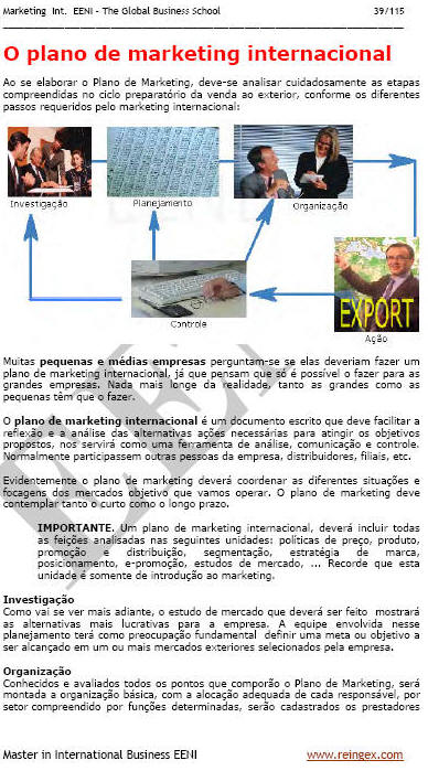 Marketing internacional (Mestrado EAD)