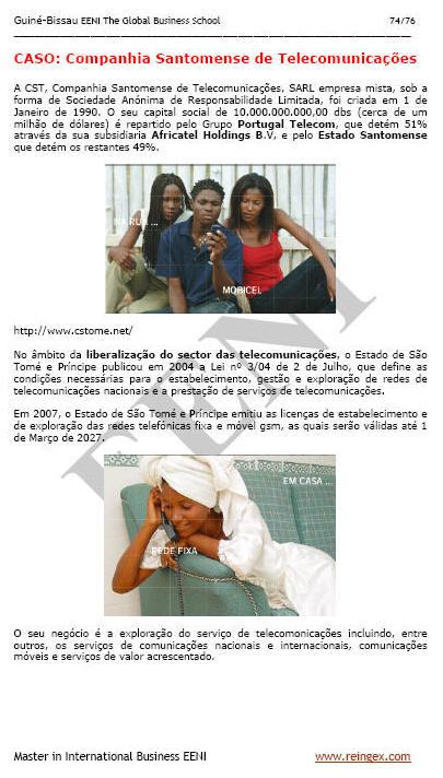 Business São Tomé e Príncipe